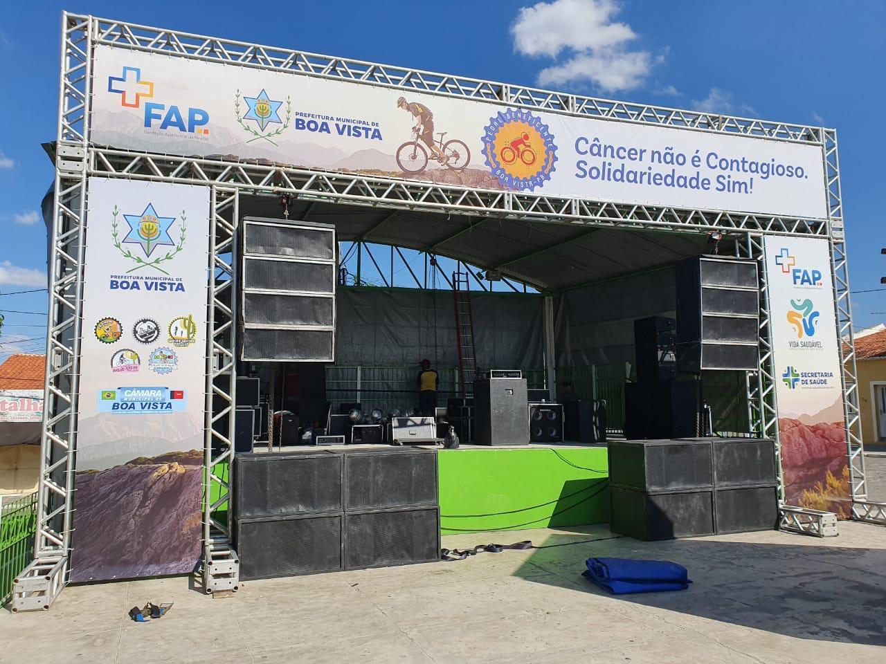 WhatsApp Image 2019 11 16 at 17.01.30 - I Pedal Beneficente em prol do Hospital da FAP em Boa Vista acontece neste domingo e conta com show do cantor Felipe Warley - VEJA VÍDEO