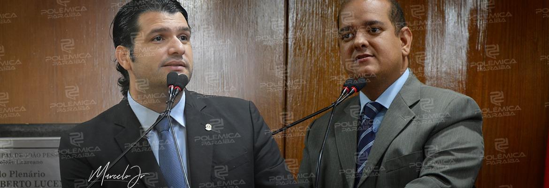 WhatsApp Image 2019 11 27 at 13.36.52 - TRAÍDOS: Léo Bezerra e Bruno Farias anunciam saída da bancada de oposição na CMJP
