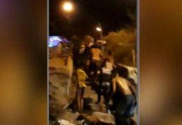 Vídeo: confronto entre grupos rivais termina em tiroteio