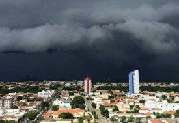 Chove mais de 70 milímetros em João Pessoa nas últimas 24 horas