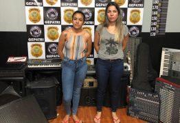 Mãe e filha são presas suspeitas de furtar instrumentos musicais de igrejas