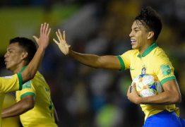Brasil reage, vira contra França e pega México na final do Mundial sub-17