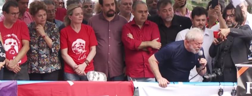 lula abc - 'Canalha', Durante discurso no ABC Lula relembra tempos de sindicalista e ataca Sérgio Moro - VEJA DISCURSO COMPLETO