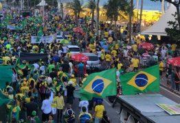 Movimentos de Direita fazem manifestações contra decisão do STF sobre prisão após condenação em segunda instância – VEJA IMAGENS