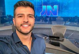 """Matheus Ribeiro: """"não imaginava apresentar o Jornal Nacional"""""""