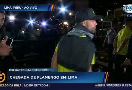 Flamengo chega em Lima para a decisão da Libertadores