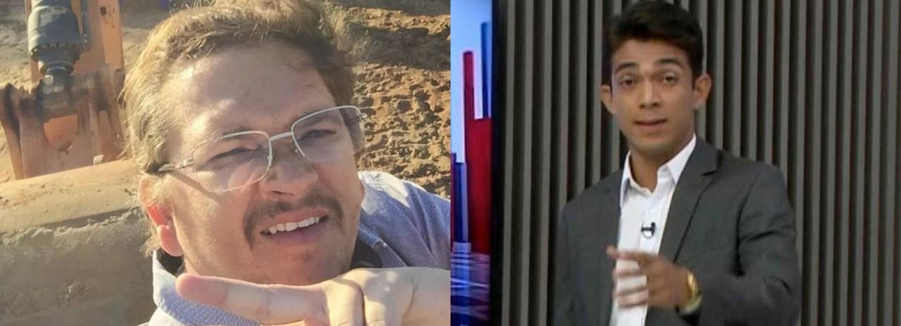 maxwell e bruno - EMPRESÁRIO E REPÓRTER: Operação Recidiva pediu prisão temporária de dois envolvidos em esquema, mas justiça indeferiu - ENTENDA