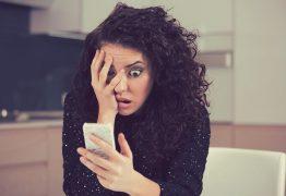 VÍCIO: Mulher perde visão por uso excessivo do aparelho celular
