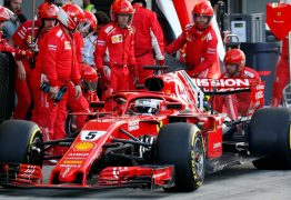 FÓRMULA 1: Ferrari evita encontro de Vettel e Leclerc após batida em Interlagos