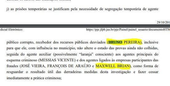 pedido de prisão - EMPRESÁRIO E REPÓRTER: Operação Recidiva pediu prisão temporária de dois envolvidos em esquema, mas justiça indeferiu - ENTENDA