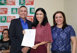 Prefeito de Santa Rita empossa novos servidores da Educação