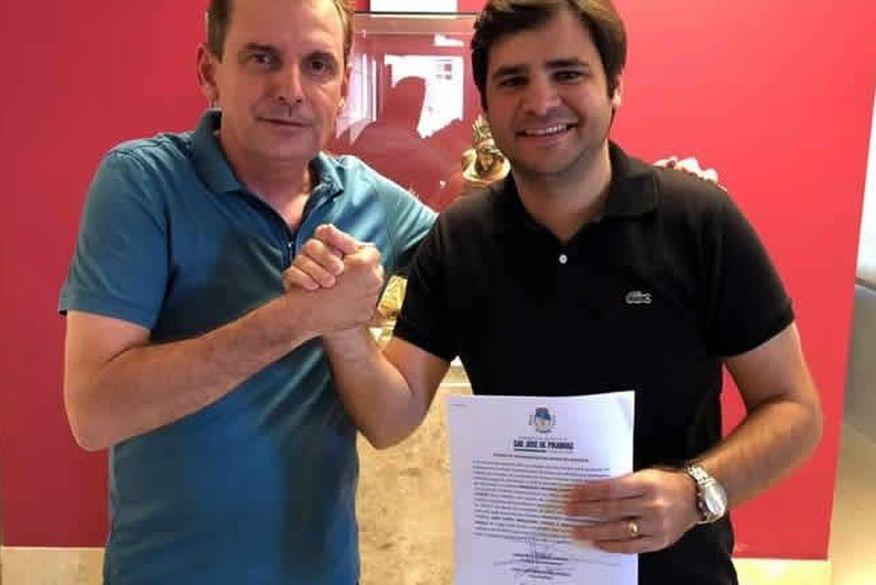 prefeito e vice de sao jose de piranhas - Prefeito em exercício rebate 'fakenews' sobre nomeação de outro vice: 'Fruto da imaginação de desocupados'