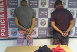 APENADOS DO SEMIABERTO: Polícia prende suspeitos de roubo no bairro José Américo