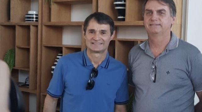romero bolsonaro e1572912239802 - Prefeitura de Campina Grande confirma vinda de Bolsonaro para a inauguração do Aluízo Campos