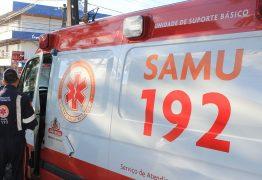 Elevador despenca de 4 metros de altura e deixa casal de idosos feridos, em Campina Grande