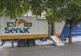 Unidades móveis do Sesc e do Senac vão a Ararina e promovem serviços gratuitos