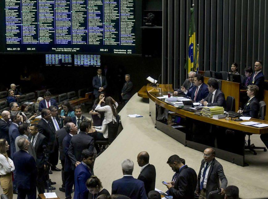 sessão do Congresso nov 868x644 - Congresso derruba veto de Bolsonaro e permite formação de federação partidária