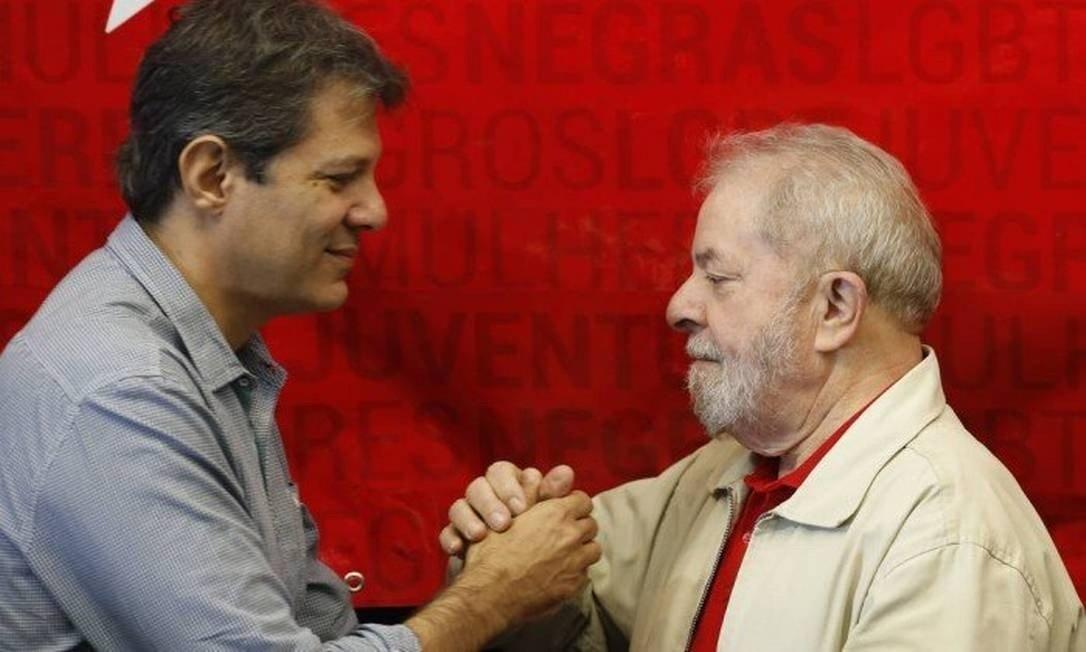 xO ex presidente Lula e o ex prefeito de Sao Paulo Fernando Haddad.jpg.pagespeed.ic .Hcfp4pPDz8 - Lula sonha em disputar eleição presidencial, mas quer Haddad como 'plano B'