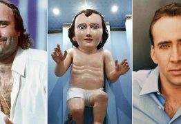 'JESUS TÁ DIFERENTE': Estátua gigante do Menino Jesus viraliza e vira meme