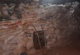 Polícia descobre túnel de 60 metros que levava a cofre do Banco do Brasil