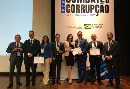 RECONHECIMENTO: Paraibanos são homenageados em fórum sobre combate à corrupção, em Brasília