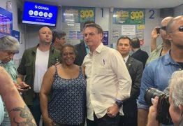 FÉ NOS NÚMEROS: Bolsonaro diz que apostou no 13 na Mega-Sena da Virada