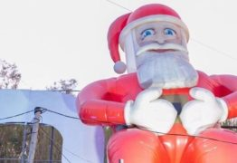 Papai Noel é 'sequestrado' e dona oferece recompensa de R$ 2 mil
