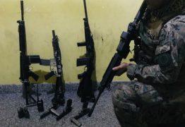 Bope apreende três fuzis, pistolas e duas granadas em operação