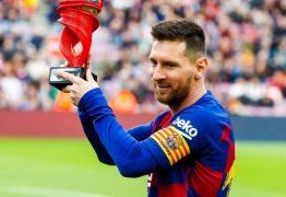 'Custava muito fazer gols', diz Messi sobre início da carreira