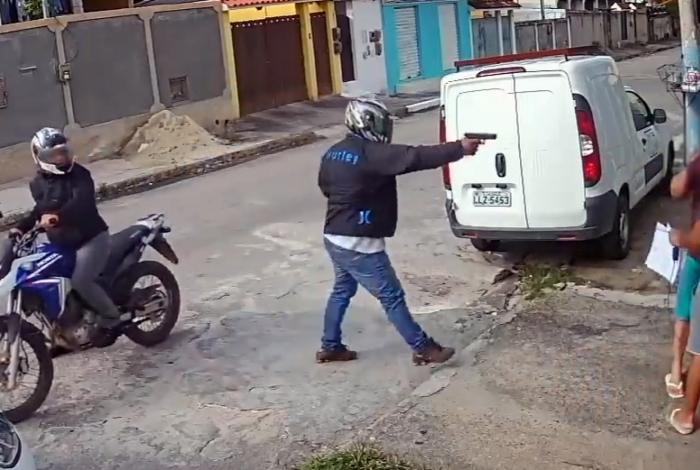 1 saogonca 14713373 - IMAGENS FORTES: vídeo mostra execução de assessor de vereador; veja