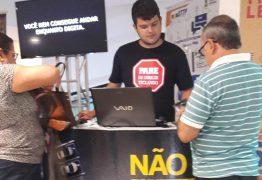 Ação para conscientização de motoristas é iniciada em shopping center de Campina Grande