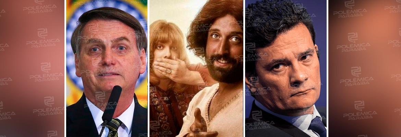 39472921 9b72 42e3 b3f9 5228cbfad87b - Silêncio de Bolsonaro e Moro soa como endosso a ataque ao Porta dos Fundos - Por Leonardo Sakamoto