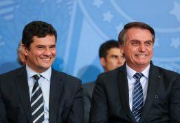 Bolsonaro aponta Sérgio Moro como bom nome para sucedê-lo em 2022, 'vai estar em boas mãos o Brasil'