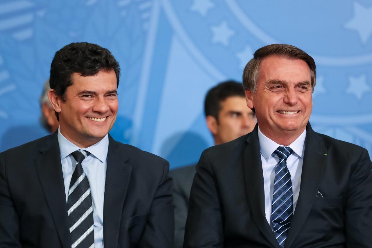 48644135303 c9e450f99d k - Bolsonaro aponta Sérgio Moro como bom nome para sucedê-lo em 2022, 'vai estar em boas mãos o Brasil'