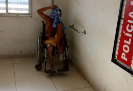 Cadeirante é preso com arma de fogo na comunidade 'Iraque', em Mangabeira