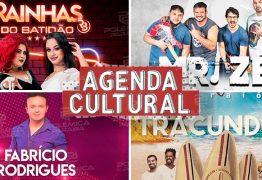 AGENDA CULTURAL: Mais de 50 eventos embalam o fim de semana em João Pessoa