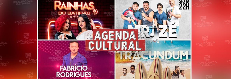 86a9cecb 214b 420a b828 60bca43593dc - AGENDA CULTURAL: Mais de 50 eventos embalam o fim de semana em João Pessoa
