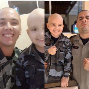 97E5014E B696 4E8B 9F33 B05C456808B3 300x300 - Policiais raspam o cabelo em apoio à criança que luta contra o câncer, na Paraíba