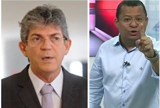 A RICARDOGG3 - INTRIGA: Nilvan rebate Ricardo Coutinho e diz querer disputar eleição contra ele; VEJA VÍDEO
