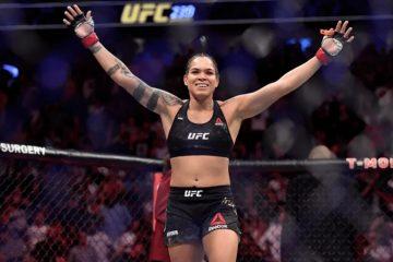 UFC: Amanda Nunes domina rival no chão e vence por pontos
