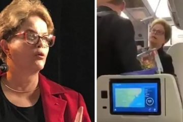 Dilma é hostilizada em avião e responde: 'sei o que vocês defendem. Defendem milícia, não é isso?'