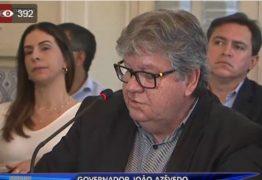 'Campanha de 2018 foi financiada com o fundo partidário do PSB', diz João Azevedo