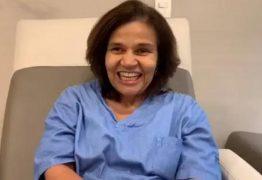 Após alta médica, Claudia Rodrigues grava vídeo e agradece apoio dos fãs