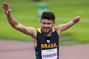 Petrúcio Ferreira está entre indicados ao Prêmio Paralímpicos