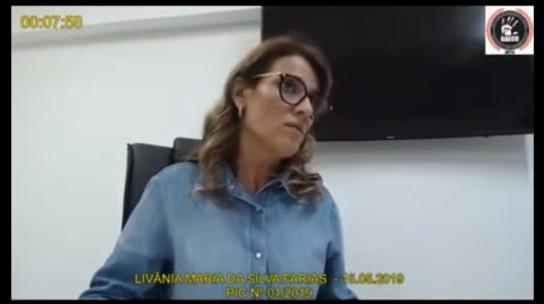 """LIVANIA 2 - """"Chegaram as mangas"""" era senha para recebimento de propina de Ricardo Coutinho, diz Livânia"""
