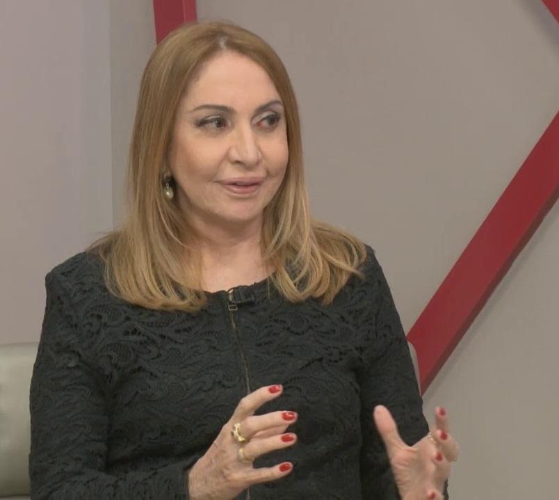 Lena Guimarães tinha 62 anos - HOMENAGEM: TCE-PB dá nome da jornalista Lena Guimarães à Sala de Imprensa do Tribunal