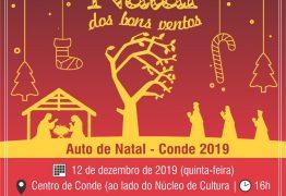 Segunda edição do 'Natal dos Bons Ventos' acontece nesta quinta-feira em Conde