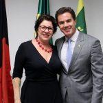 Prefeita Márcia Lucena e Senador Veneziano Vital 150x150 - EMENDA DE VENEZIANO: Conde obtém recursos de 150 mil para a Saúde