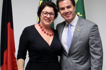 Prefeita Márcia Lucena e Senador Veneziano Vital 360x240 - EMENDA DE VENEZIANO: Conde obtém recursos de 150 mil para a Saúde