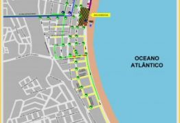 Trânsito será alterado para o réveillon na orla de João Pessoa; veja mapa
